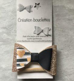 Création bouclettes